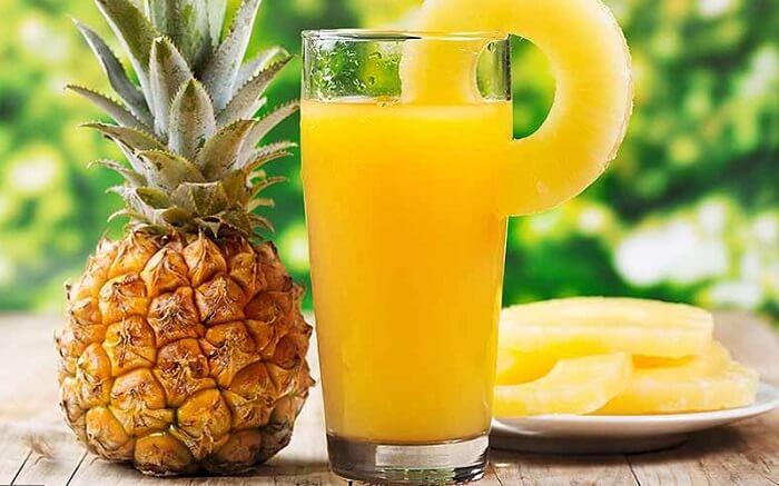 Dứa chứa rất nhiều vitamin C giúp tăng sức đề kháng cho cơ thể
